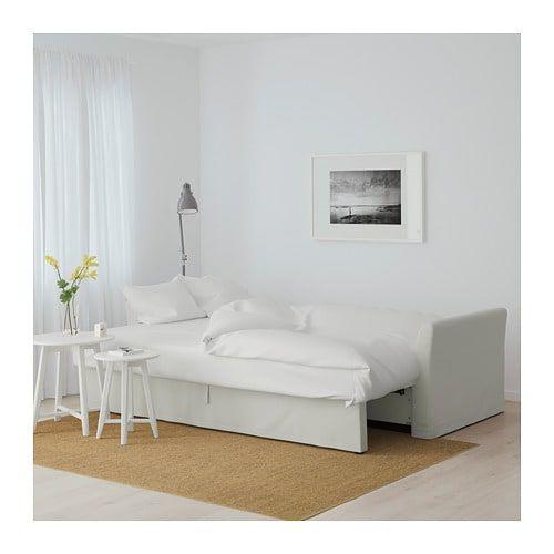 Holmsund Three Seat Sofa Bed Orrsta Light White Grey Orrsta Light White Grey Corner Sofa Bed Sofa Bed Sofa Bed Frame