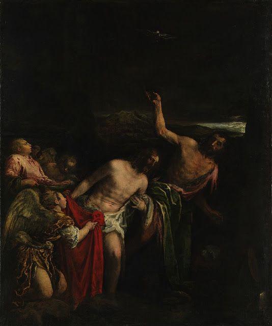 Η βάπτιση του Χριστού (1592)
