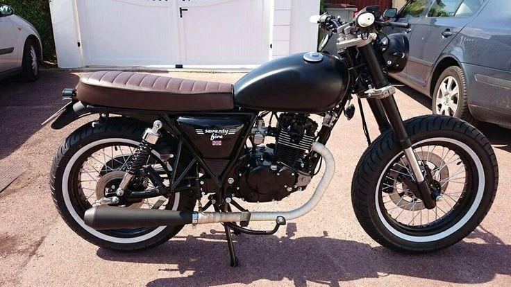 mash seventy five 125 motorbike pinterest. Black Bedroom Furniture Sets. Home Design Ideas