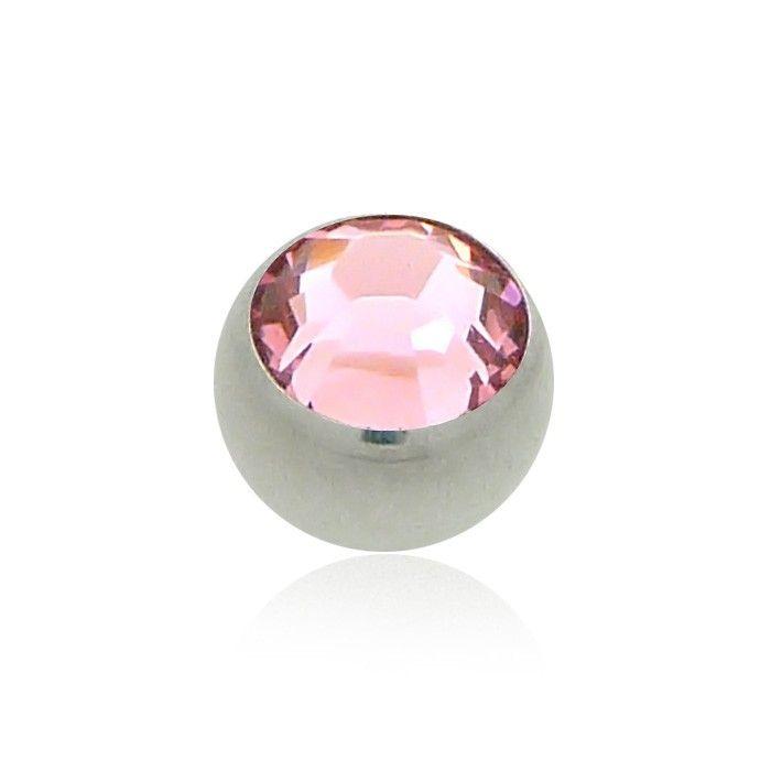 Boule brillante à petit prix pour un cadeau en extra ! À visser sur tous les piercing : tragus, hélix, nombril, lobe, bouche,... ! Pleins de couleurs différentes !