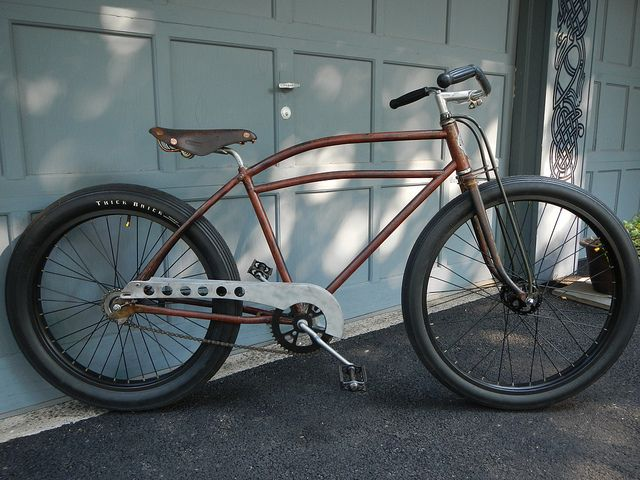 how to build a rat rod bicycle