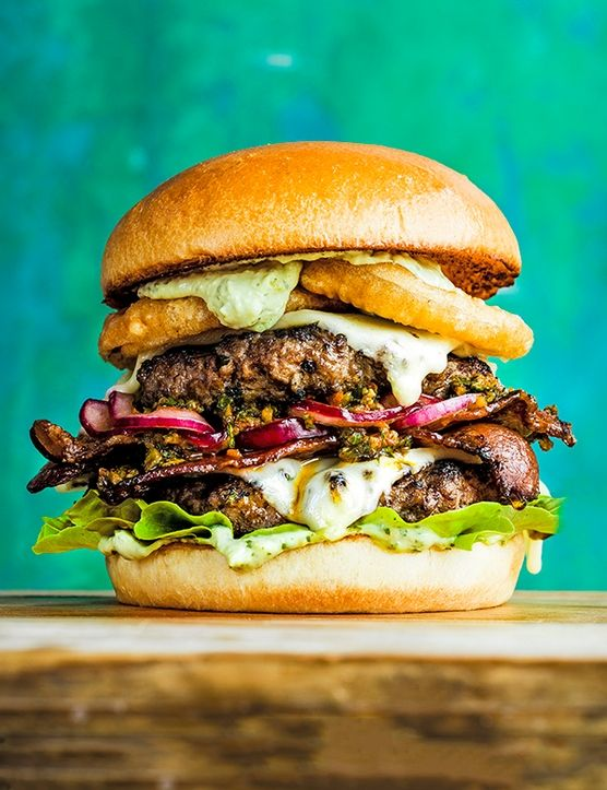 With their full-on flavour and meaty texture, suitable for the grill, these completely vegan loaded burgers are an absolute must at any barbecue.