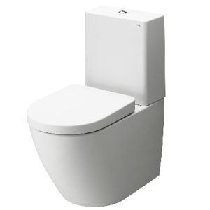 Toto Series NC close-coupled toilet. http://www.cphart.co.uk/toilets/close-coupled-toilets/ #toilet #toilets #bathrooms