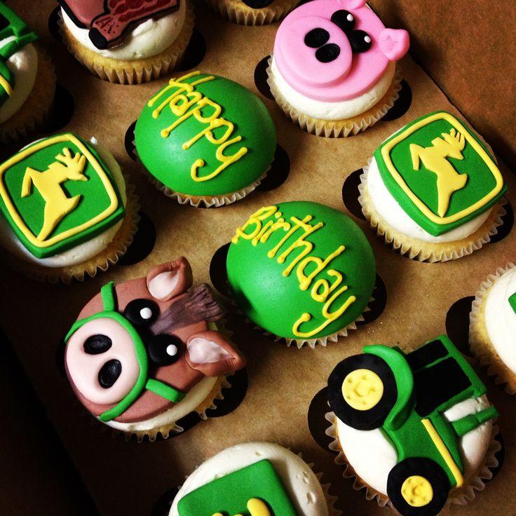 John Deere Bakeshop Pinterest John Deere Cupcakes