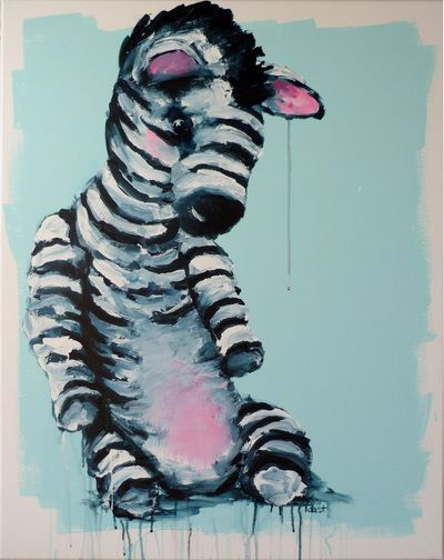 """still life with zebra toy"" Seabastion Toast 2015 www.theartoftoast.com www.facebook.com/theartoftoast"