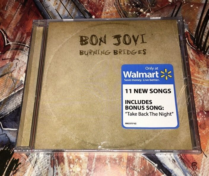 Bon Jovi Burning Bridges Wm Excl w Bonus Song Chinese Democracy BB Excl | eBay