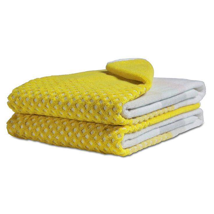 Hay Håndklæde autumn yellow i str. 70 x 140 cm