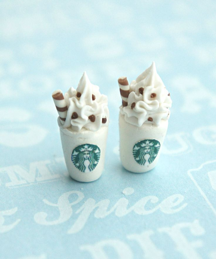 starbucks stud earrings | Jillicious charms and accessories