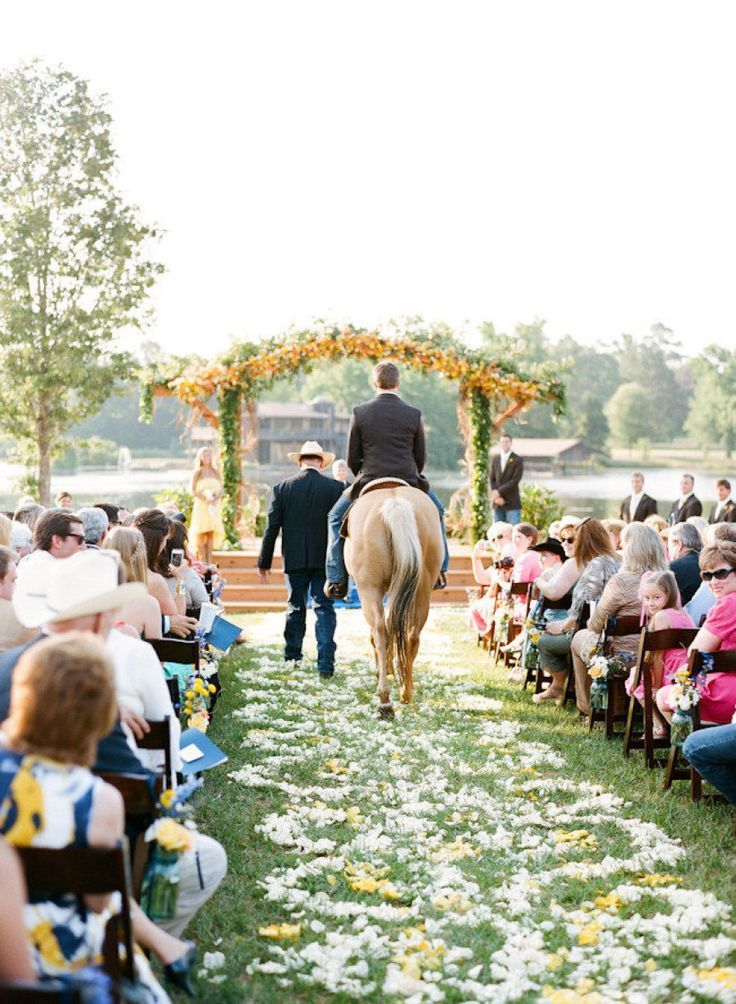 mariage cheval