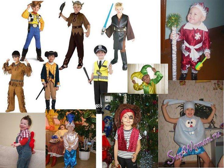 Новогодний костюм чебурашки для детей сделать самим