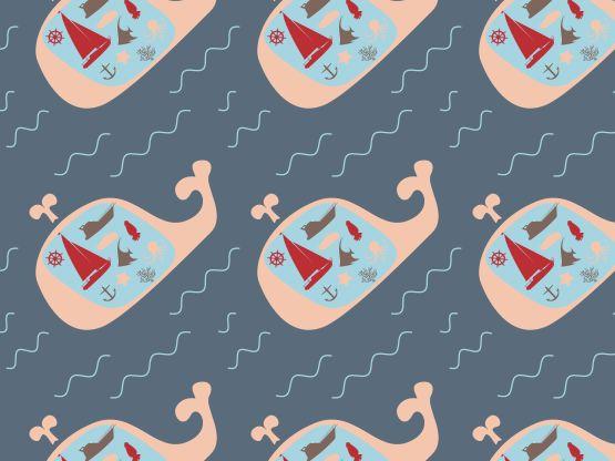 """""""Beluga"""" by pennylemonade anchor, beluga, boat, fish, nautical, ocean, sea, whale"""