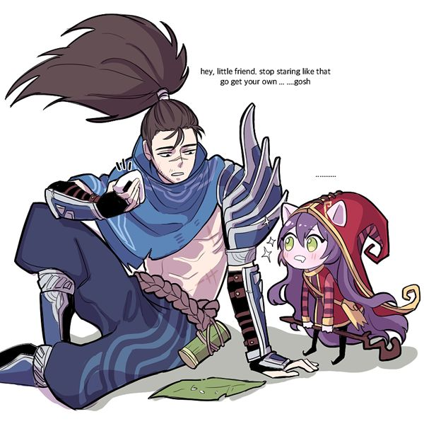 yasuo lulu by S2PQ on DeviantArt