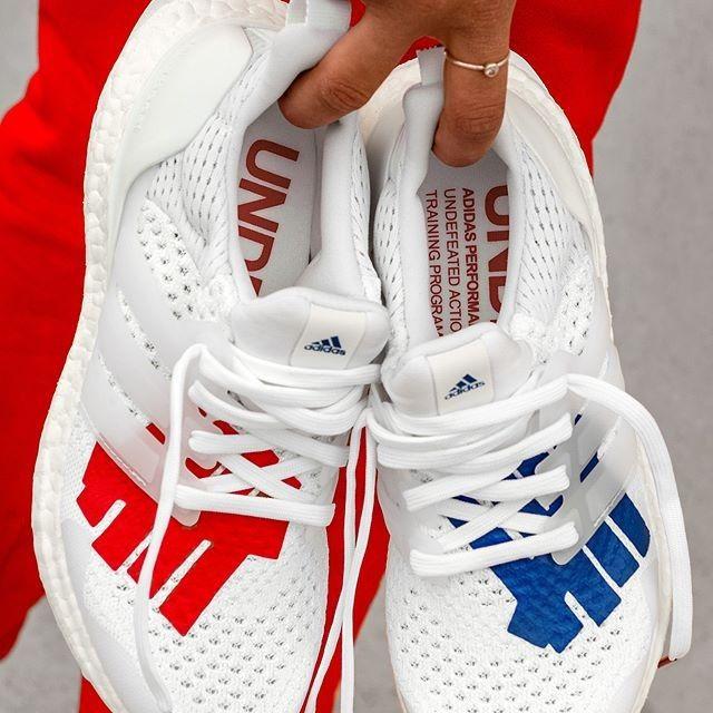 Adidas Originals X Ultraboost Undftd Herren Frauenschuh Weiss Rot Blau Ef1968 Adidas Ultra Boost Adidas Ultra Boost