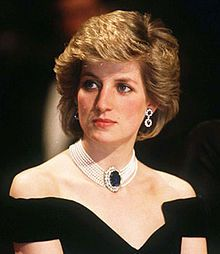 Diana, Princess of Wales (Diana Frances; née Spencer; 1 July 1961 – 31 August 1997), was the first wife of Charles, Prince of Wales, whom she married on 29 July 1981, and member of the British Royal Family. She was also well known for her fund-raising work for international charities.