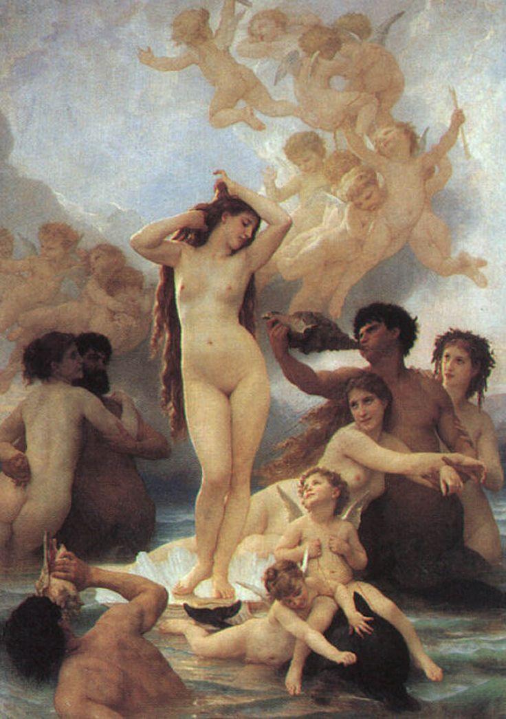 William Bouguereau – Narodziny Wenus