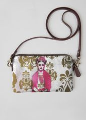 VIDA Statement Bag - Frida & Audrey Hepburn by VIDA sUi2A