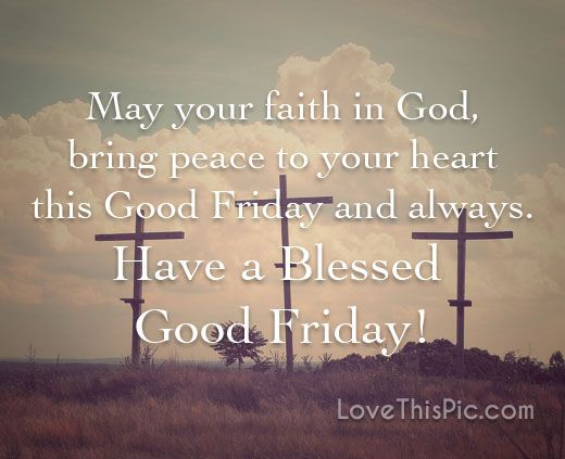 Blessed Good Friday
