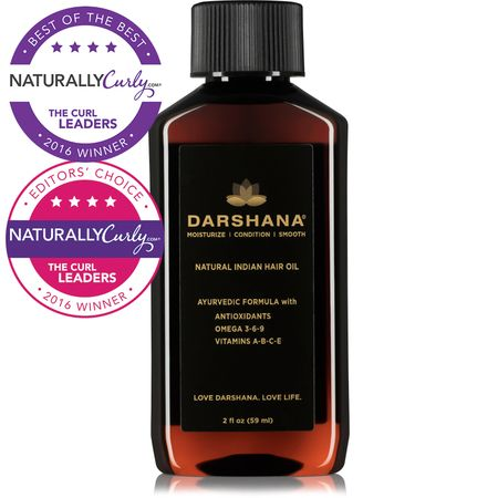 Shop the best hair care products, including Darshana Natural Indian Hair Oil (2 oz.) and others at Shop.NaturallyCurly.com.