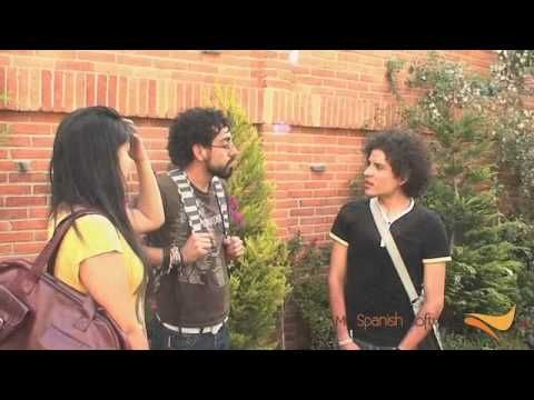 ¿Quién soy y de dónde vengo? Great video to show students about introducing themselves.