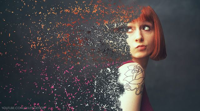 Create an Awesome Disintegration Effect in Photoshop | Photo Effect