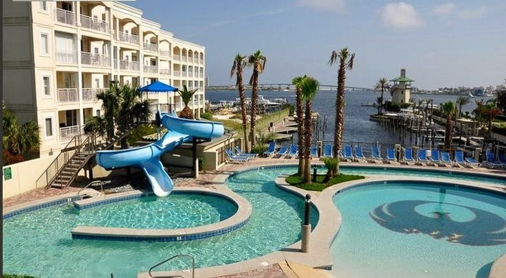 Orange Beach Alabama Condo Lazy River Water Slide Looks