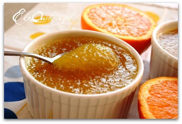 Pomarańczowy kisiel z tapioki | Eko Quchnia