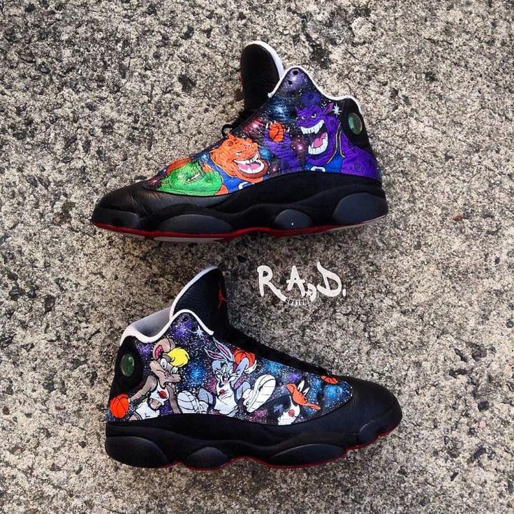 Space Jam Monstars & Tune Squad Shoes. | Monstars Bupkus ...
