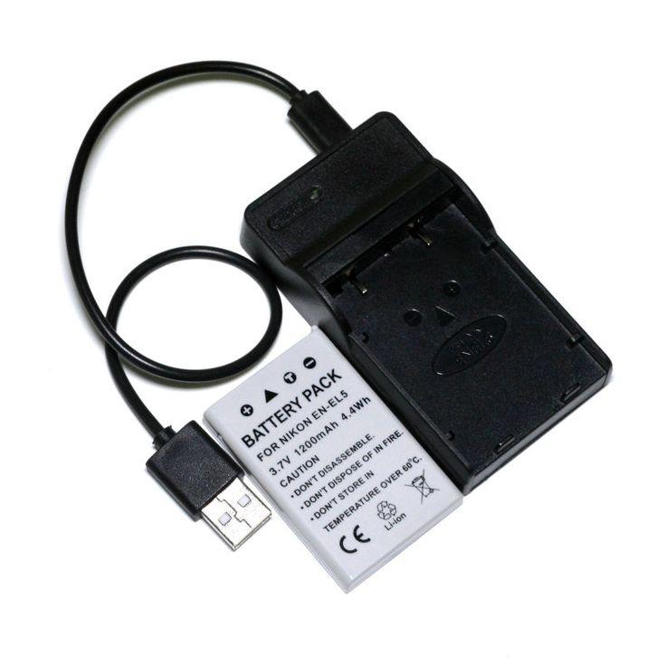 $14.59 (Buy here: https://alitems.com/g/1e8d114494ebda23ff8b16525dc3e8/?i=5&ulp=https%3A%2F%2Fwww.aliexpress.com%2Fitem%2FCONENSET-EN-EL5-Battery-and-USB-Charger-for-Nikon-Coolpix-S10-P3-P4-P80-P90-P100%2F32705653548.html ) CONENSET EN-EL5 Battery and USB Charger for Nikon Coolpix S10 P3 P4 P80 P90 P100 P500 P510 P5000 P5100 P6000 Camera for just $14.59