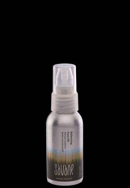 Balancing Face Oil: For radiant skin and a silky feel: our face oil absorbs deep into the skin to restructure skin cells and restore suppleness. Essential fatty acids (omega) from Marula, Kalahari Melon and Manketti oils maintain the integrity of skin cells and their natural barrier functions. #organic #skincare #SouthAfrica #AllureCosmetics