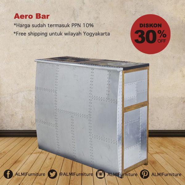 Aero Bar membantu meramaikan suasana rumah Anda saat acara kumpul bareng bersama keluarga. Furniture dengan kontruksi kuat dilapisi alumunium juga tidak mengurangi estetika tiap sudut desainnya. Info Pemesanan Telp. (0274) 4342 888 (Customer Service & Sales) Cek disini..http://ow.ly/Y6wLb