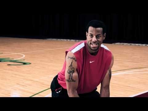 Nike Basketball Pro Training, Andre Iguodala, Defense: Zig Zags - YouTube