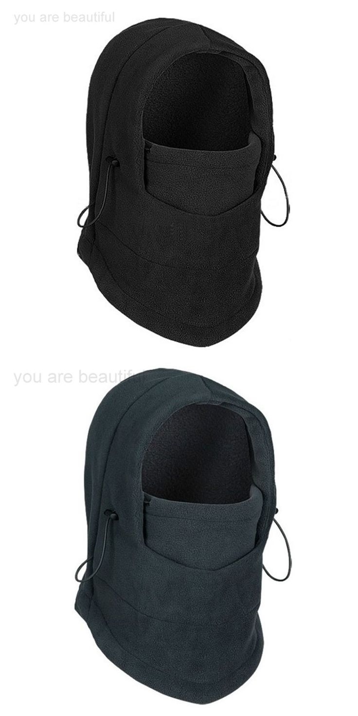 unisex neck warmer winter Fleece skull face mask  beanie hats