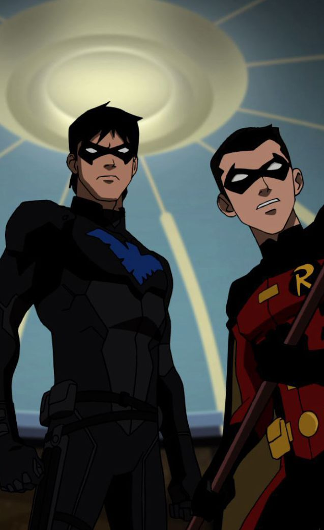 Nightwing young justice and robins on pinterest - Pictures of nightwing from young justice ...