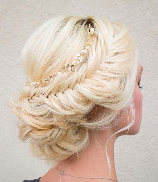 Astounding 1000 Images About Wedding Hair On Pinterest Chignons Updo And Buns Hairstyle Inspiration Daily Dogsangcom