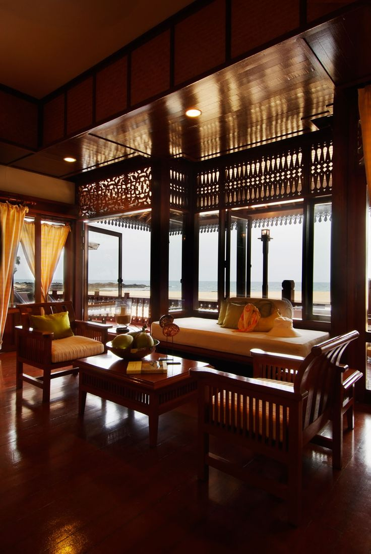 Tanjong Jara Resort In Malaysia Gives Guests The Royal Treatment With Spacious Open Air Rooms Gourmet Dining And Activities That Make For An