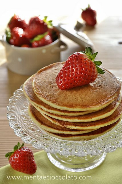 Pancakes by MentaeCioccolato, via Flickr