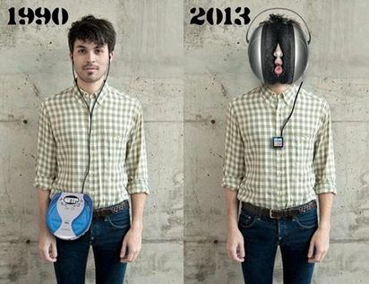 The evolution of listening to music