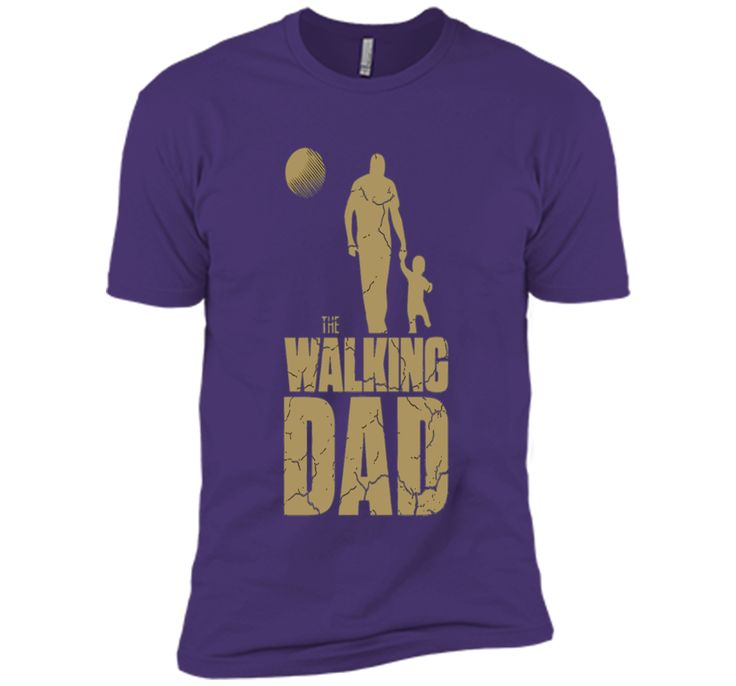The Walking Dad Funny Father's Day T-Shirt