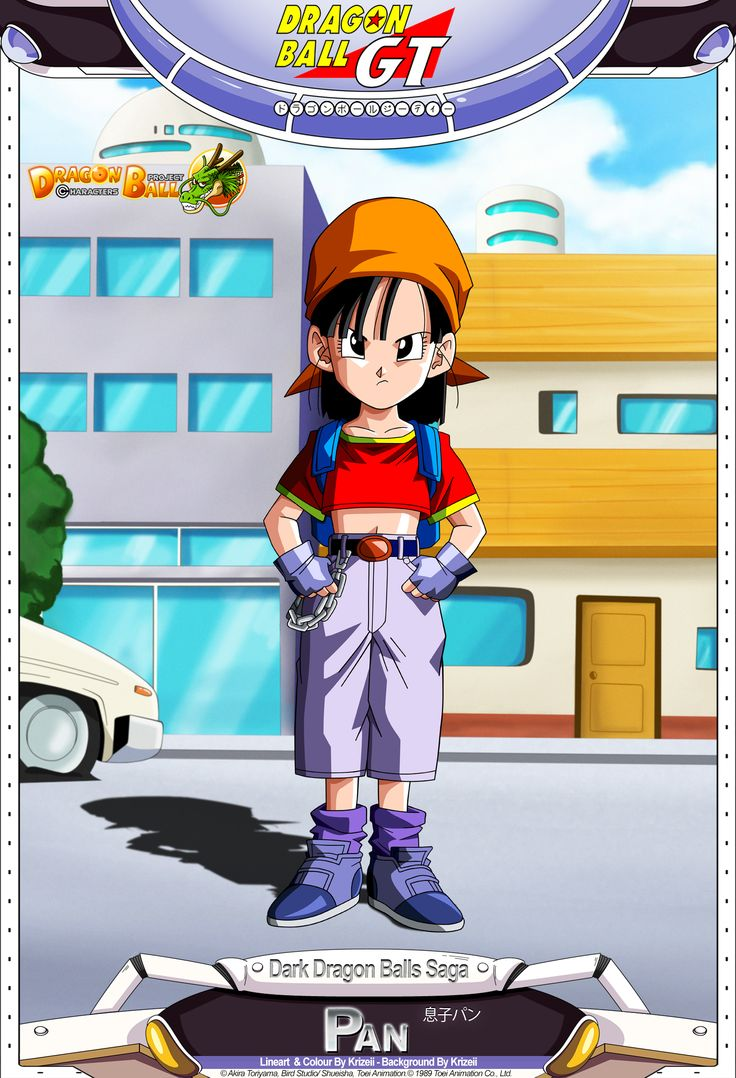 Dragon Ball GT - Pan by *DBCProject on deviantART