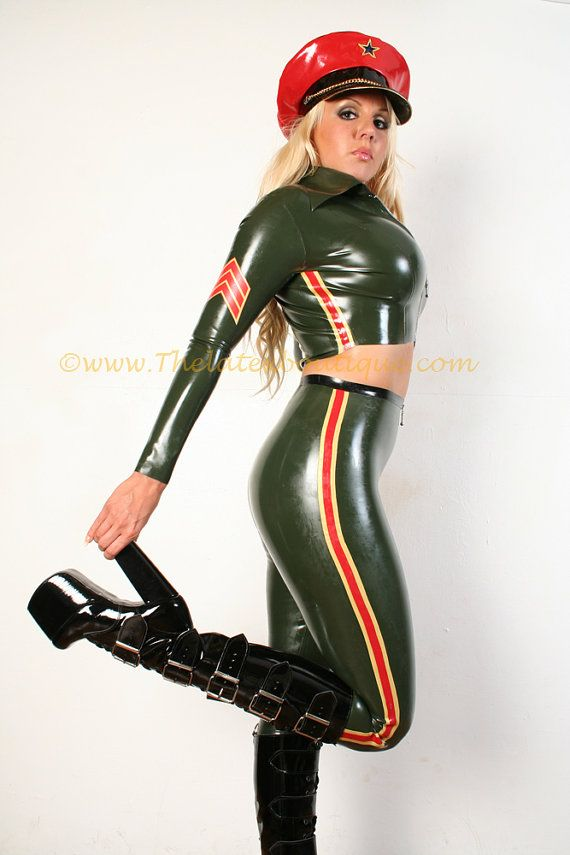 Military Latex Leggings by Thelatexboutique on Etsy, £99.95