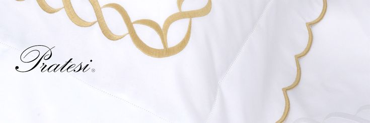 Relax and indulge in five-star luxury with Pratesi bed linen.