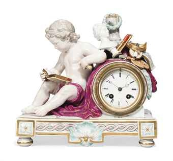 Meissen clock...for the bedside table