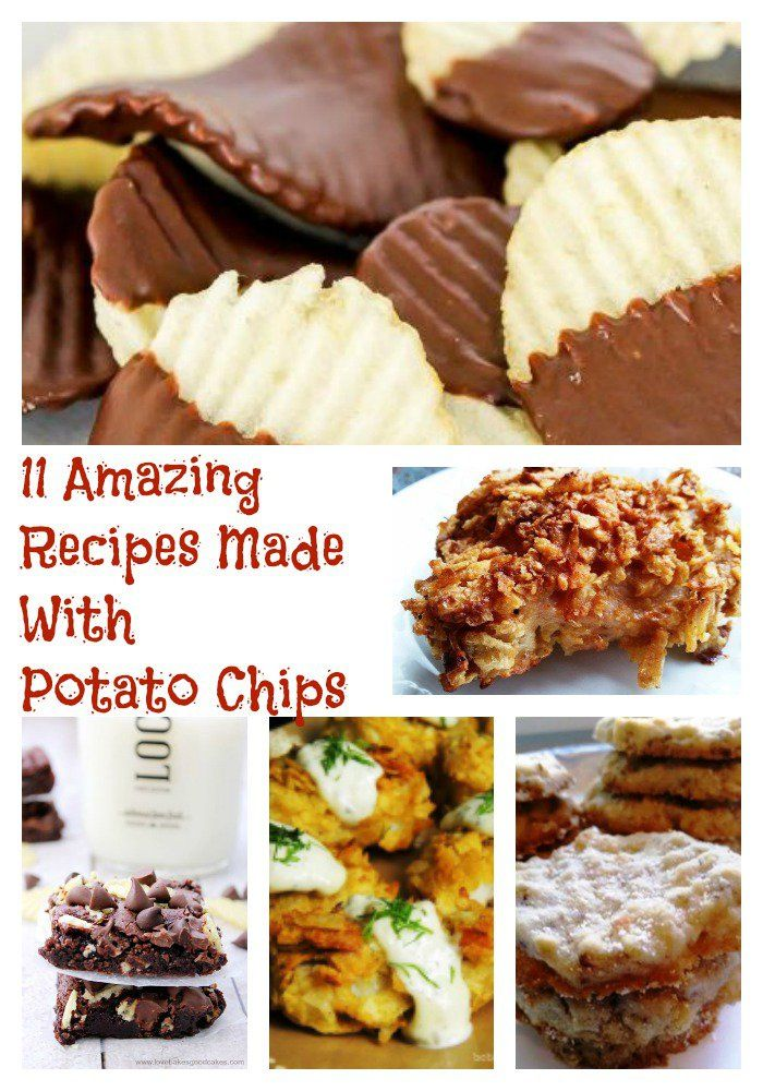 11 Amazing Recipes Made With Potato Chips
