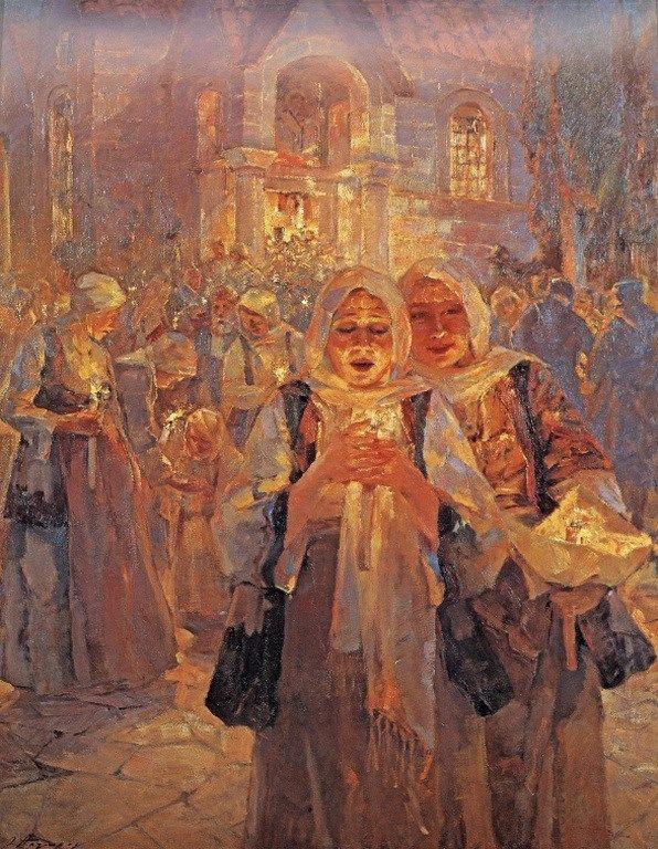 Ουμβέρτος Αργυρός - Ανάσταση, 1932 / Oumbertos Argyros - Easter, 1932