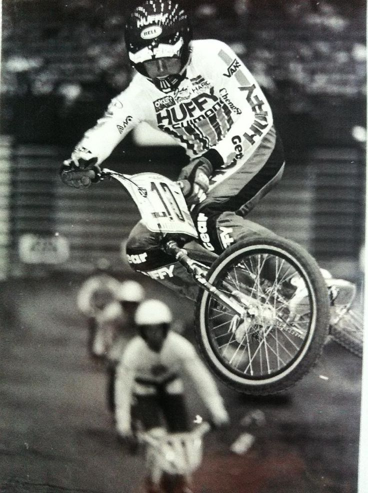 Huffy Factory BMX Racing in 1985