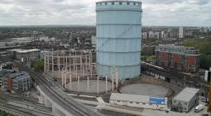Image result for map of 9 elms gas works
