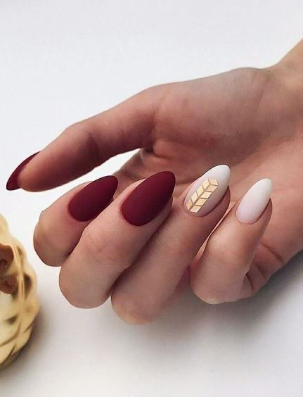 55 Greatest Easy Matte Nail Polish Designs to Copy ASAP