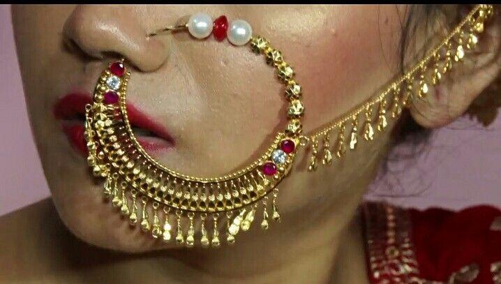 Garhwali Kumaoni Nath Bridal Jewelry Collection Nose Jewelry