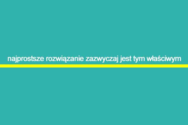 Najprostsze… | www.MotywujSie.pl