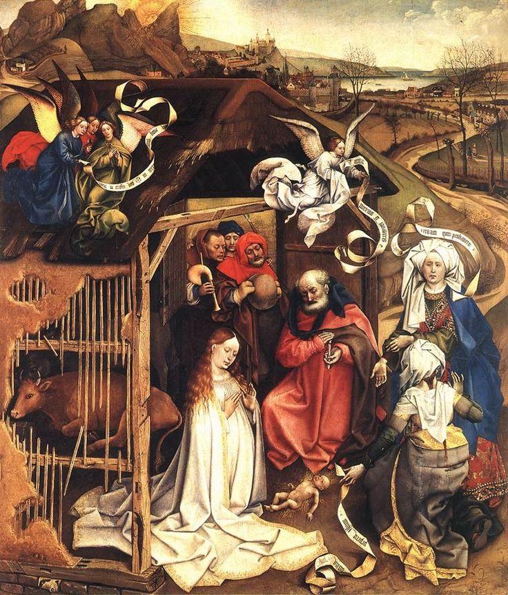 The Nativity by Robert Campin
